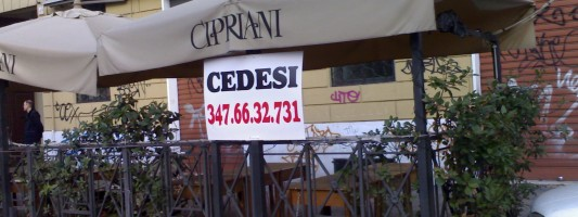 Cedesi locale solo per ristoratori di qualità!