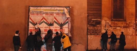 I cittadini stacchini arrivano a Piazza del Popolo. Il resoconto