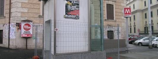 Scontro di civiltà per un ascensore a Viale Manzoni