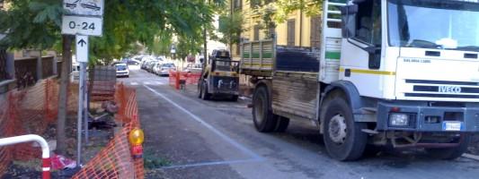 Lavori pubblici. Timidamente si riparte con le strade dell'Esquilino Sud