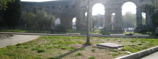 Piazza di Porta Maggiore. Messaggio all'Assessorato all'Ambiente