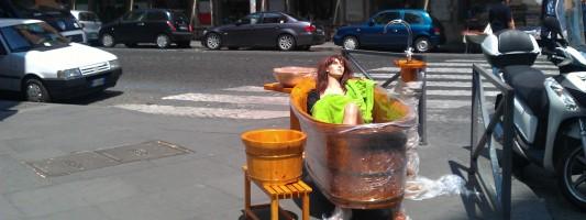 L'ormai famigerato negozio angolo Piazza Vittorio \ Via dello Statuto