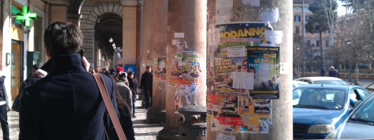 Massacrare una stupenda piazza storica. Piazza Vittorio ad esempio