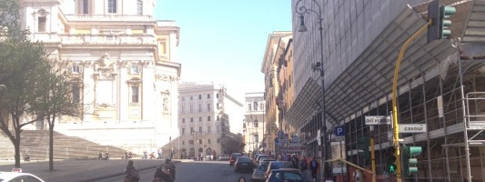 Il palazzo Fincotex di Piazza dell'Esquilino si rifà il trucco