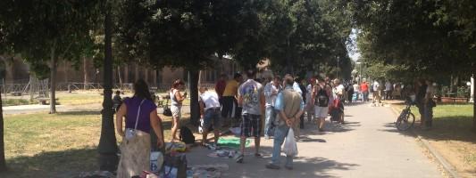 Ricettatori e mercato di roba rubata nel parco di Carlo Felice. E ci hanno pure aggredito