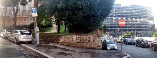 Si interverrà sul povero giardinetto di Via Monte Oppio?
