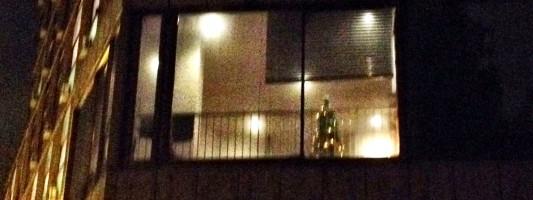 Gli occupanti dell'ex Inpdap fanno l'albero di Natale e ti rubano la pensione. Ballarò ti spiega perché