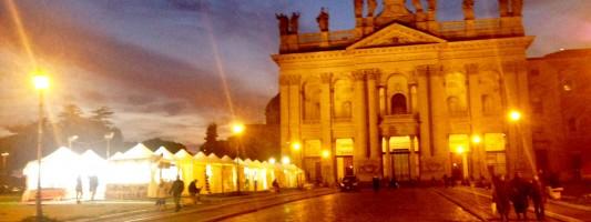 Mercatini di Natale #1. San Giovanni in Laterano