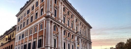 Il restauro del palazzone a Piazza dell'Esquilino