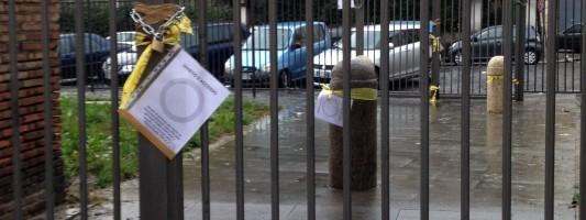 La chiusura del Parco di Via Statilia. I vigili chiedono le catene ai residenti. La Snam rimane chiusa fuori