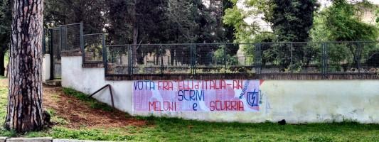 Se volete bene a Colle Oppio, non votate Fratelli d'Italia