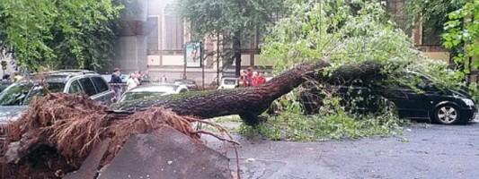 Questa è Viale Manzoni dopo un temporale estivo?