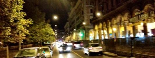 Asfalto o sanpietrini? Intanto Piazza Vittorio col cantiere in corso è migliorata!