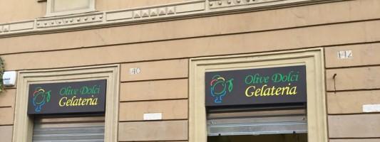Olive Dolci apre oggi a Via Emanuele Filiberto. Come sarà la nuova gelateria?