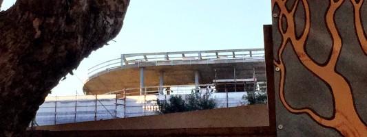 """I servizi segreti in Piazza Dante. Purtroppo è tornato """"l'abuso"""" sul tetto"""